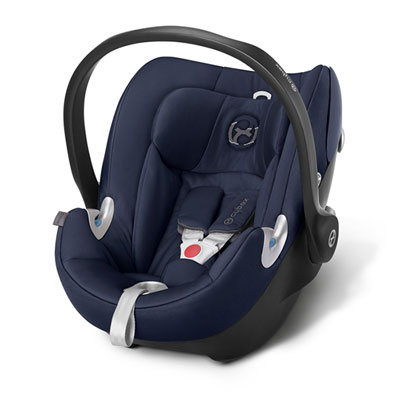Siège auto aton q midnight blue/navy blue - groupe 0+ Cybex