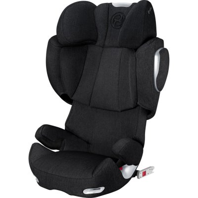 Siège auto solution q3-fix plus stardust black/ black - groupe 2/3 Cybex