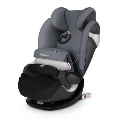 Siège auto pallas m fix graphite black/dark grey - groupe 1/2/3 Cybex