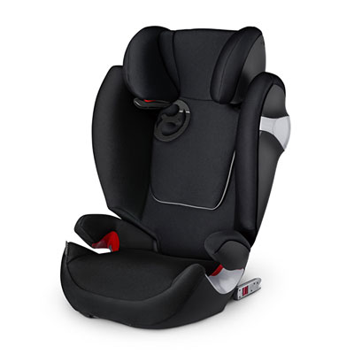 Siège auto solution m fix stardust black/black - groupe 2/3 Cybex