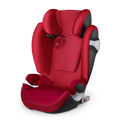 Siège auto solution m fix infra red/red - groupe 2/3 Cybex
