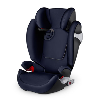 Siège auto solution m fix midnight blue/navy blue - groupe 2/3 Cybex