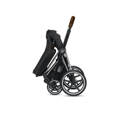 Poussette 4 roues priam chrome/brown premium black Cybex