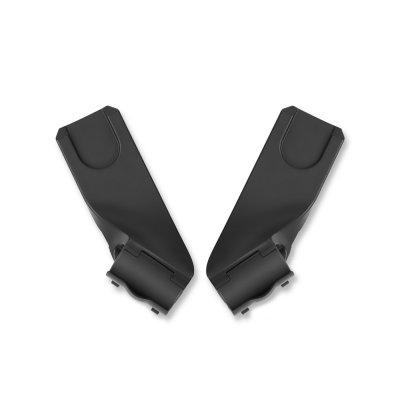 Pack poussette duo eezy s plus avec aton m i-size lavastone black/urban black Cybex