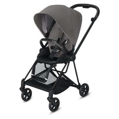 Poussette 4 roues mios matt black manhattan grey Cybex