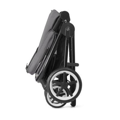 Poussette 4 roues balios m lavastone black/black Cybex