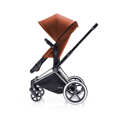 Pack poussette duo priam chrome 2 en 1 light autumn gold Cybex