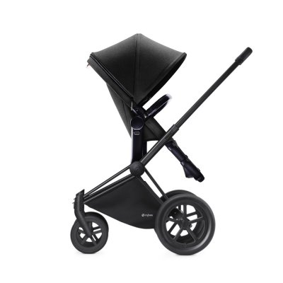 Pack poussette duo priam black 2 en 1 tout terrain black Cybex