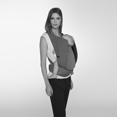 Porte bébé yema denim manhattan grey/mid grey Cybex