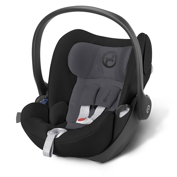 Siège auto cloud q phantom grey - groupe 0+ Cybex