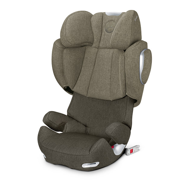 Siège auto solution q2-fix plus olive khaki - groupe 2/3 Cybex