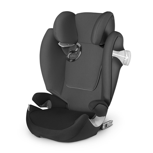 Siège auto solution m fix happy black - groupe 2/3 Cybex
