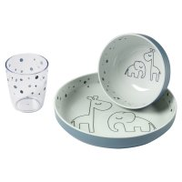 Coffret repas yummi dinner dreamy dots blue