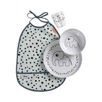 Coffret repas dinner set happy dots blue