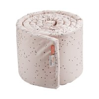 Tour de lit bébé dreamy dots powder