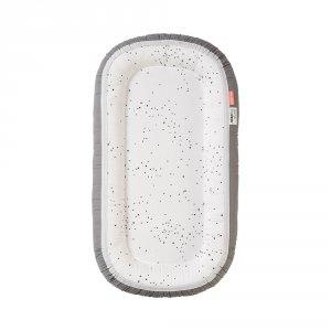 Réducteur de lit cozy nest plus dreamy dots white/grey