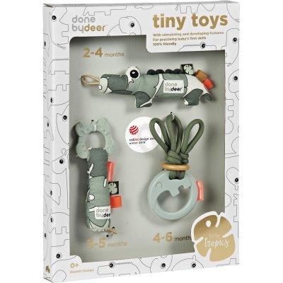 Coffret cadeau jouet d'éveil bébé tiny tropics Done by deer