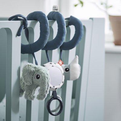 Jouet d'éveil bébé spirale d'activités bleu Done by deer