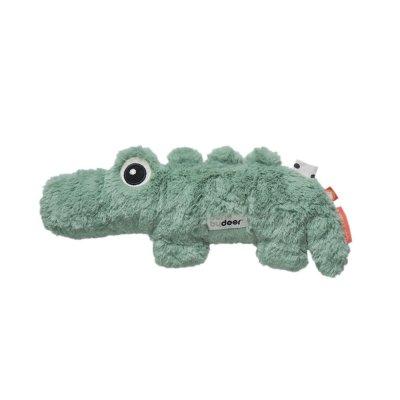 Peluche bébé cuddle cute croco green Done by deer