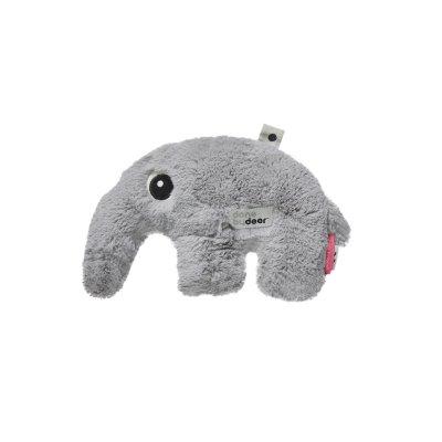 Peluche bébé cuddle cute antee grey Done by deer