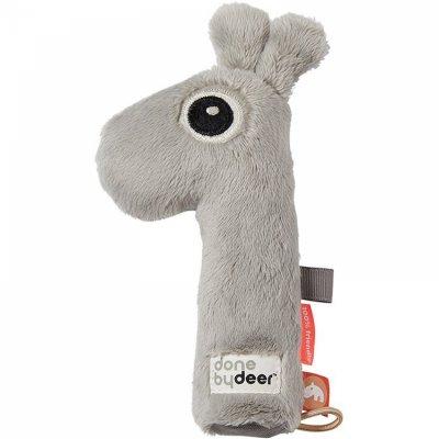 Hochet pouet pouet raffi grey Done by deer