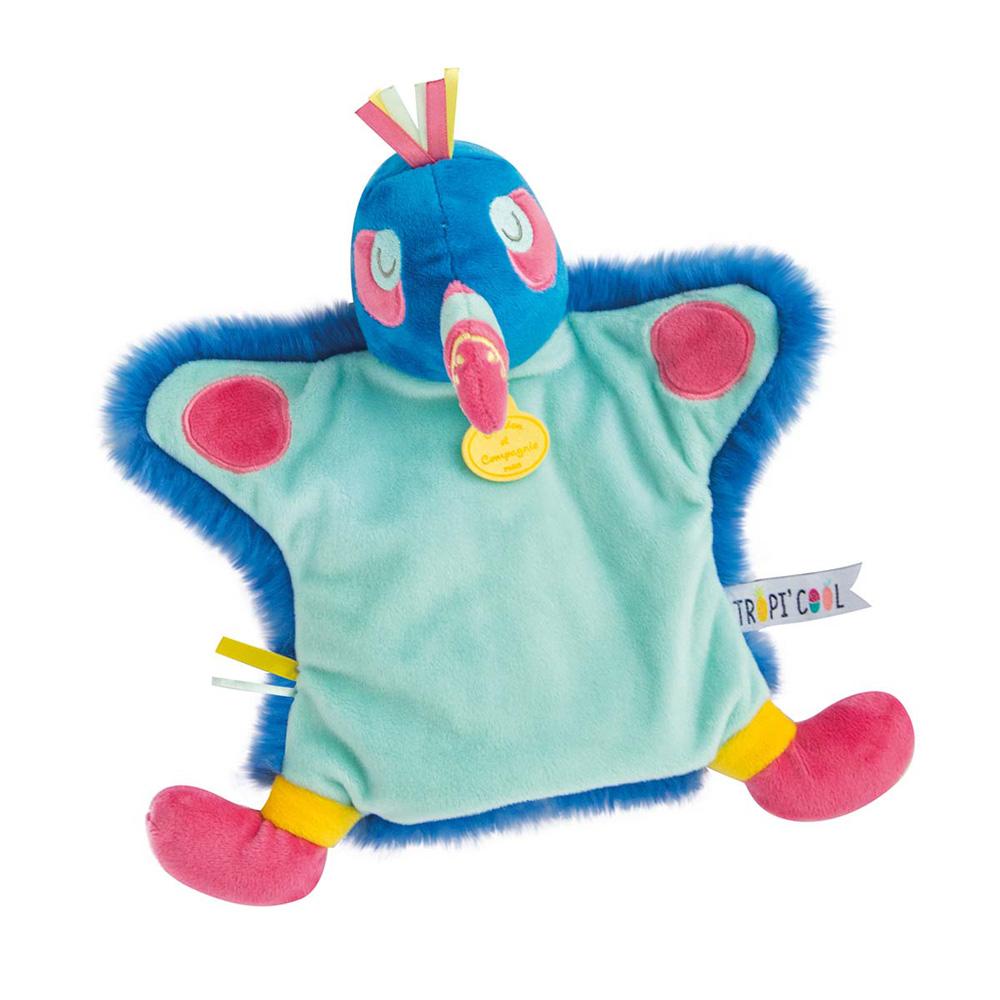 35bc02193837e Jouet d éveil bébé marionnette toucan de Doudou.