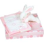 Lapin bonbon protège carnet de santé + lapin rose pas cher