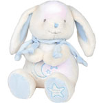Veilleuse bébé musicale lapin bonbon bleu pas cher