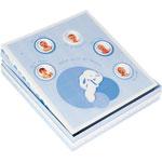 Album photo bébé grand modéle lapin bonbon bleu pas cher