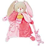 Jouet d'éveil marionnette lapin celestine pas cher