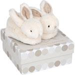 Coffret chaussons bébé taupe lapin bonbon pas cher