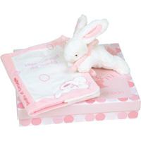 Lapin bonbon protège carnet de santé + lapin rose