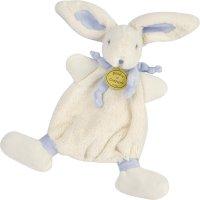 Doudou bleu lapin bonbon