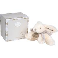 Peluche bébé lapin bonbon 20 cm taupe