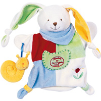 Jouet d'éveil bébé marionnette barnabé le petit jardinier
