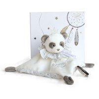 Doudou panda attrape-rêve