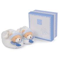Chaussons bébé avec hochet 6 - 12 mois petit chou