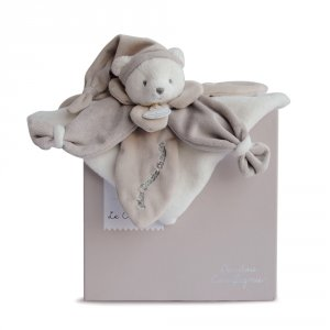 Doudou collector ours taupe
