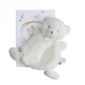 Doudou ours blanc boite led
