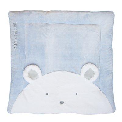 Tapidou ours bleu Doudou et compagnie
