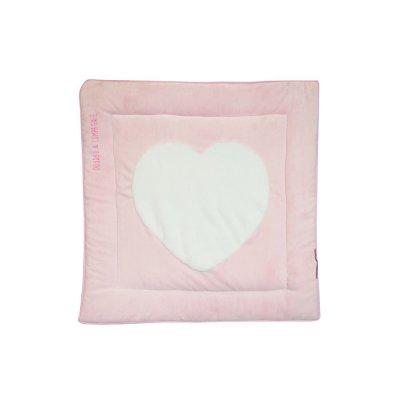 Tapidou coeur rose Doudou et compagnie