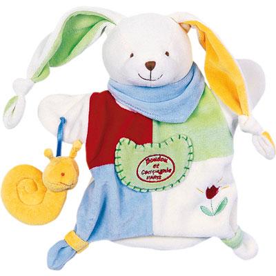 Jouet d'éveil bébé marionnette barnabé le petit jardinier Doudou et compagnie