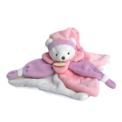 Doudou collector ours rose Doudou et compagnie