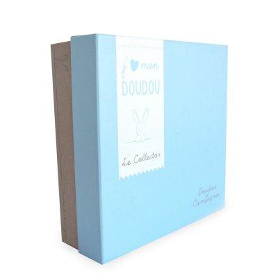 Doudou collector ours bleu Doudou et compagnie