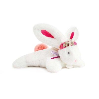Doudou lapin tutti frutti petite etoile Doudou et compagnie