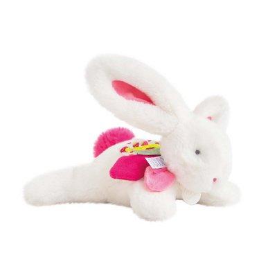 Doudou lapin tutti frutti fraisine Doudou et compagnie