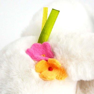 Doudou lapin tutti frutti pâquerette Doudou et compagnie