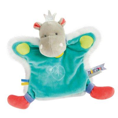 Jouet d'éveil bébé marionnette hippo Doudou et compagnie