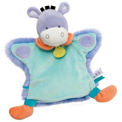 Jouet d'éveil bébé marionnette ane Doudou et compagnie