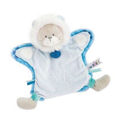 Jouet d'éveil bébé marionnette lion Doudou et compagnie